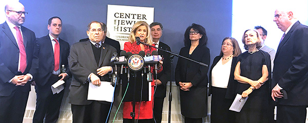 New York City News Rep. Carolyn B. Maloney Announces Historic Bipartisan Legislation on Holocaust Education